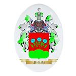 Polaski Oval Ornament