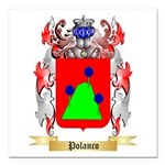 Polanco Square Car Magnet 3
