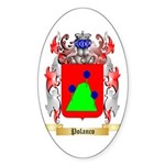 Polanco Sticker (Oval 10 pk)