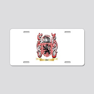 Pol Aluminum License Plate