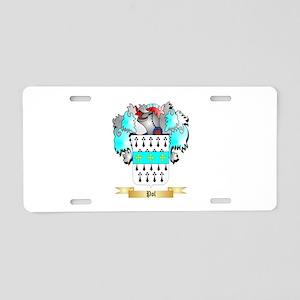 Pol 2 Aluminum License Plate