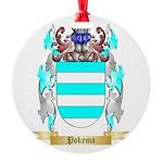 Pokema Round Ornament