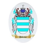 Pokema Oval Ornament
