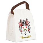 Pointing Canvas Lunch Bag