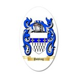 Pohling 20x12 Oval Wall Decal