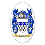 Pogosian Sticker (Oval 10 pk)