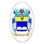 Pogge Sticker (Oval 50 pk)