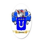 Podolsy Oval Car Magnet