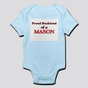 Proud Boyfriend of a Mason Body Suit