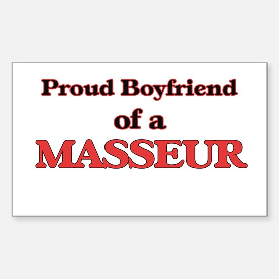 Proud Boyfriend of a Masseur Decal