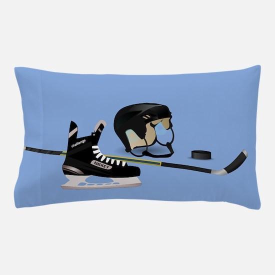 Hockey elements Pillow Case