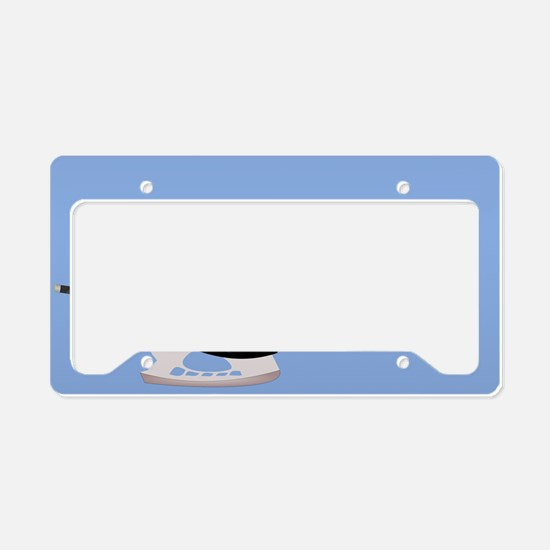 Hockey elements License Plate Holder