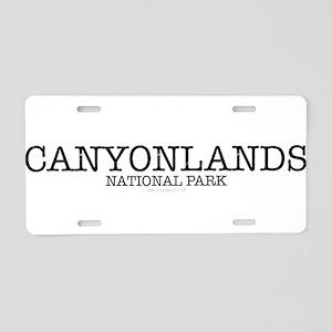 Canyonlands National Park Z Aluminum License Plate