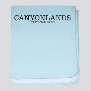 Canyonlands National Park ZNP baby blanket