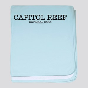 Capital Reef National Park CNP baby blanket