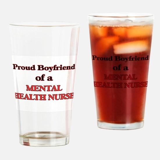 Proud Boyfriend of a Mental Health Drinking Glass