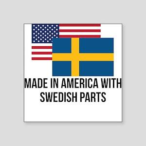 Swedish Parts Sticker