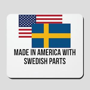 Swedish Parts Mousepad