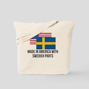 Swedish Parts Tote Bag