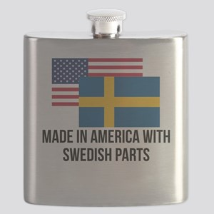 Swedish Parts Flask