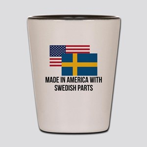 Swedish Parts Shot Glass