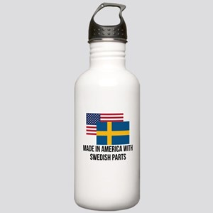 Swedish Parts Water Bottle