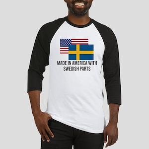 Swedish Parts Baseball Jersey
