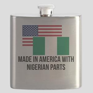 Nigerian Parts Flask