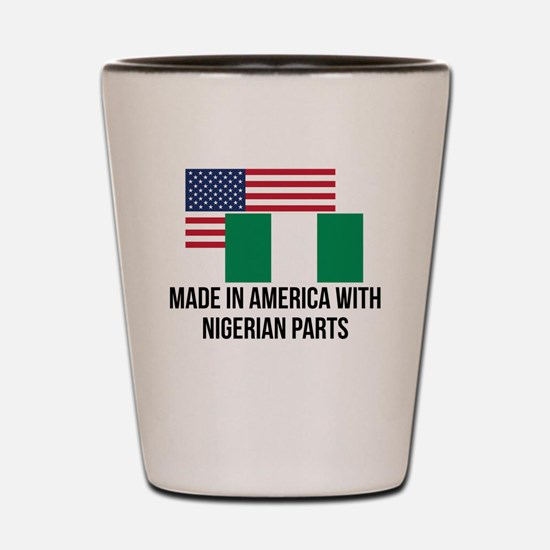 Nigerian Parts Shot Glass
