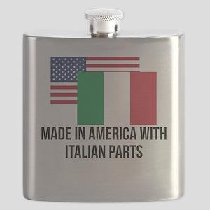 Italian Parts Flask