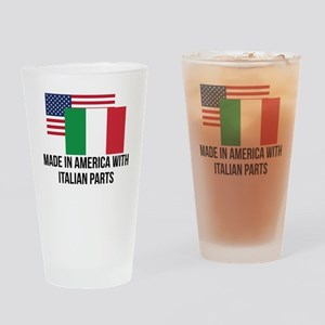 Italian Parts Drinking Glass