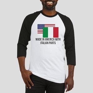 Italian Parts Baseball Jersey