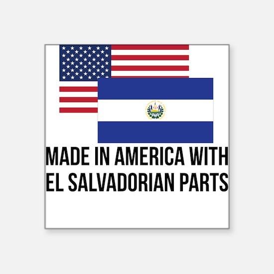 El Salvadorian Parts Sticker