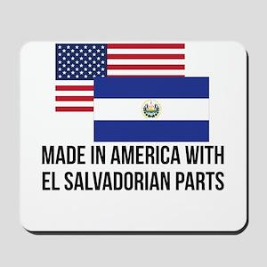 El Salvadorian Parts Mousepad