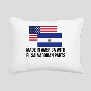 El Salvadorian Parts Rectangular Canvas Pillow