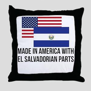 El Salvadorian Parts Throw Pillow