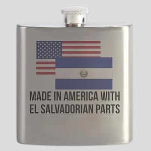 El Salvadorian Parts Flask