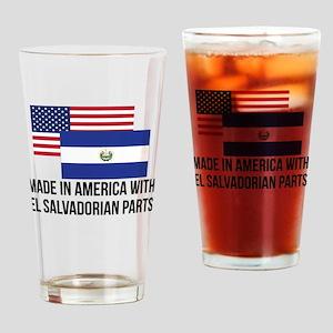 El Salvadorian Parts Drinking Glass