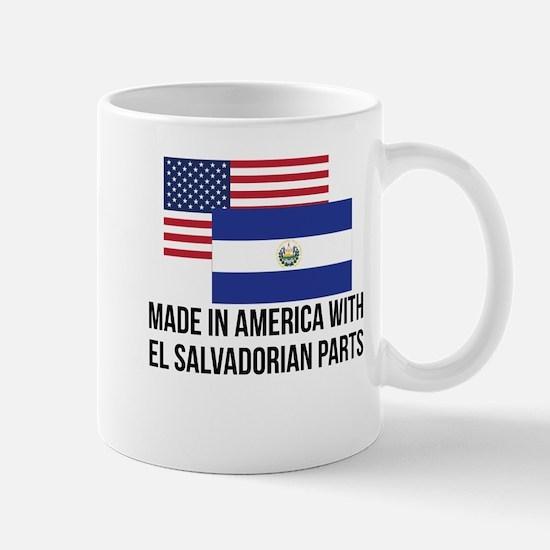 El Salvadorian Parts Mugs