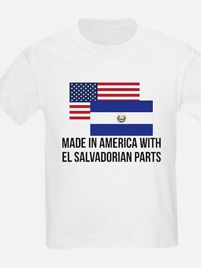 El Salvadorian Parts T-Shirt
