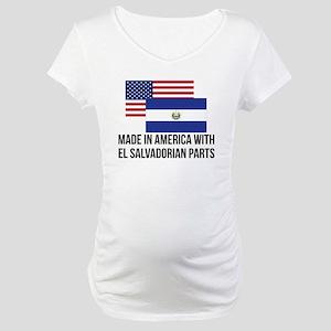 El Salvadorian Parts Maternity T-Shirt