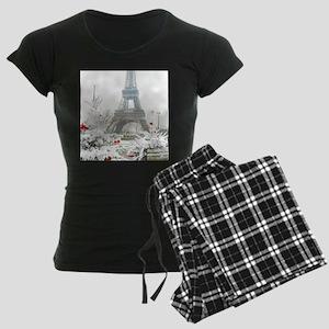Winter in Paris Pajamas