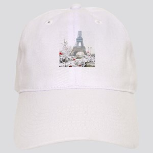 Winter in Paris Baseball Cap