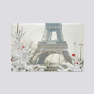 Winter in Paris Magnets