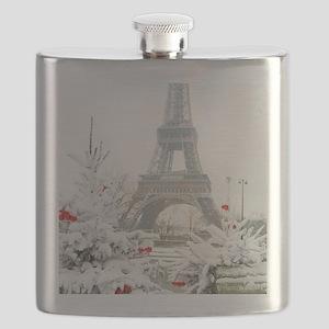 Winter in Paris Flask