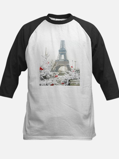Winter in Paris Baseball Jersey