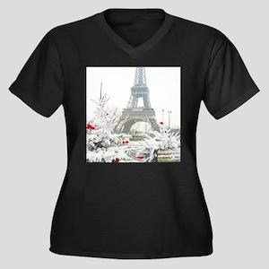 Winter in Paris Plus Size T-Shirt