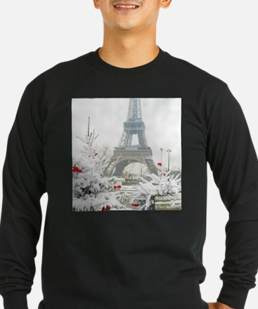 Winter in Paris Long Sleeve T-Shirt