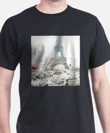 Winter in Paris T-Shirt