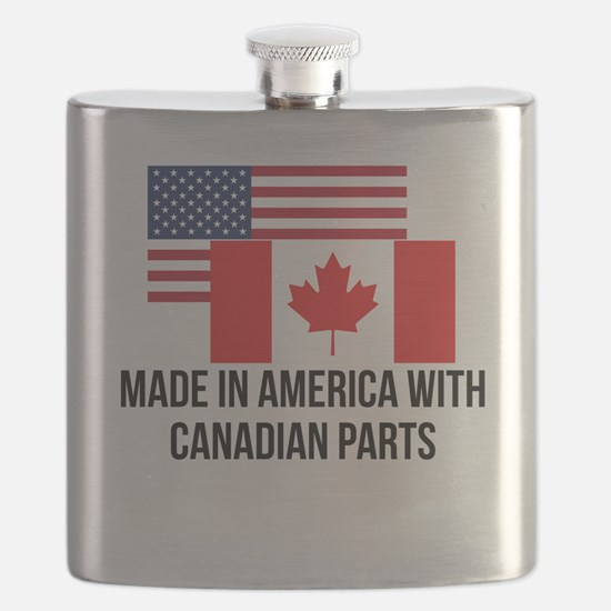 Canadian Parts Flask